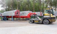 Movella: Applications - Concrete Element Industry - Concrete slabs
