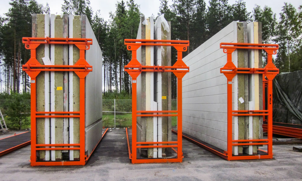 Movella: Applications - Concrete Element Industry - Inloader flats