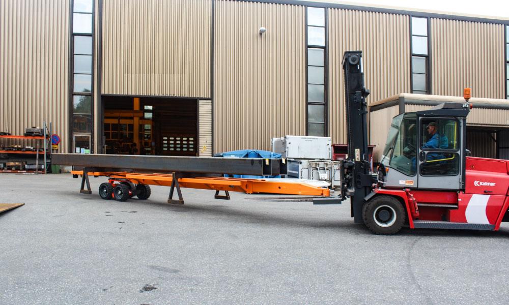 Movella: Anwendungsgebiete - Schwerindustrie-Workshops - NT10-beams