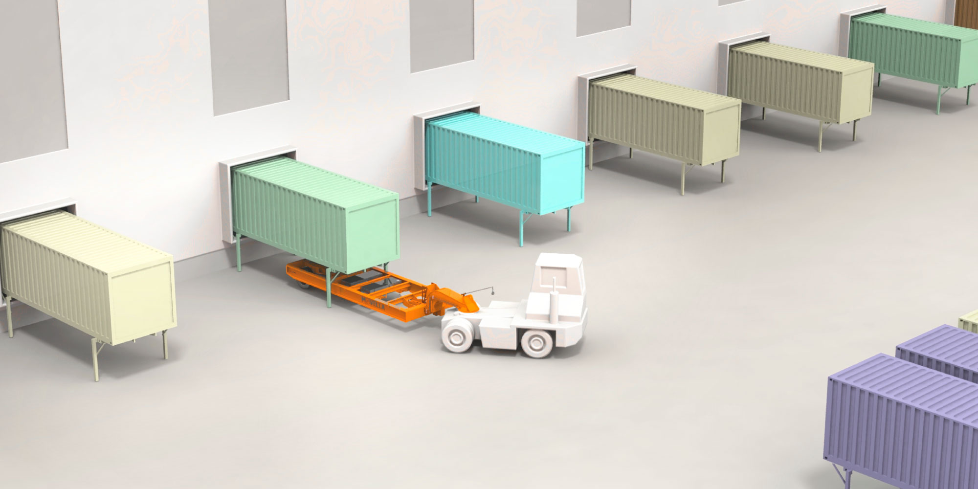 Movella: Applications - Logistic Terminals