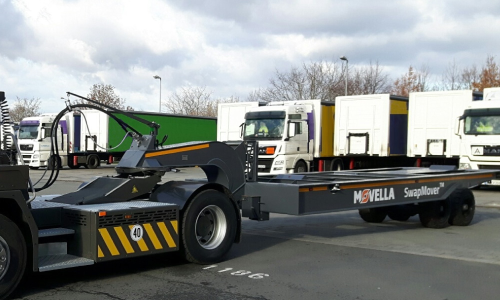 Movella Applications for Logistic Terminals: SwapMover