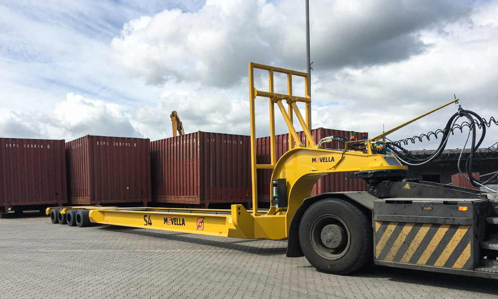 Movella Applications for Ports - Container-Cassettes