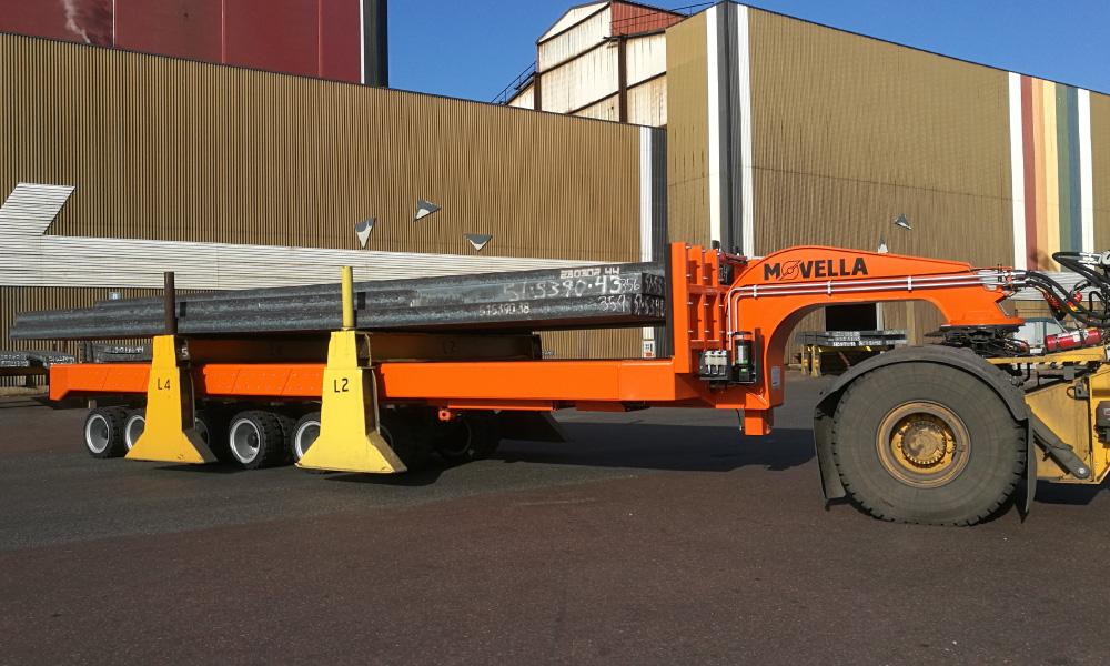 Movella Translifters in Steel industry