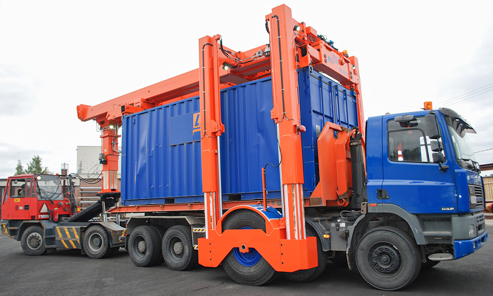 Movella Container Mover in action